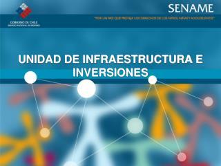 UNIDAD DE INFRAESTRUCTURA E INVERSIONES