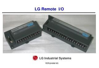 LG Remote  I/O