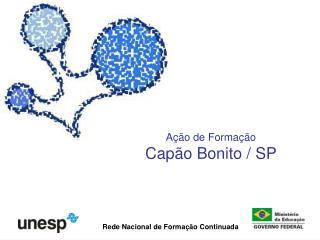 Ação de Formação Capão Bonito / SP