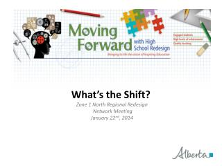 What's the Shift? Zone 1 North Regional Redesign  Network Meeting