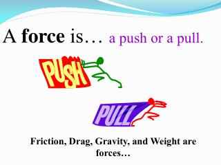A force  is…