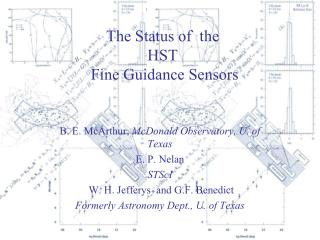 The  Status  of   the  HST Fine Guidance  Sensors