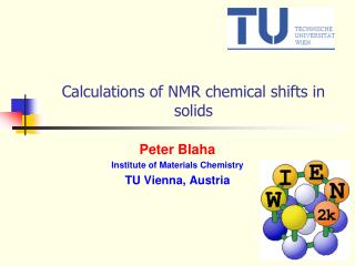 Calculations of NMR chemical shifts in solids