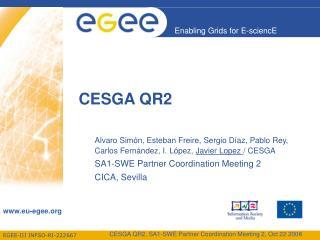 CESGA QR2