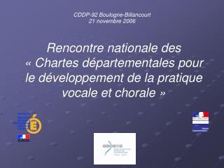 CDDP-92 Boulogne-Billancourt 21 novembre 2006