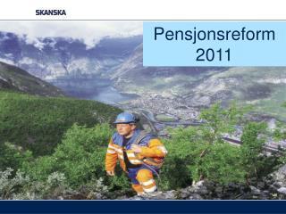 Pensjonsreform 2011