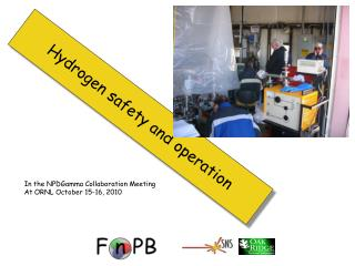 Hydrogen safety and operation