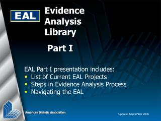 Evidence Analysis Library
