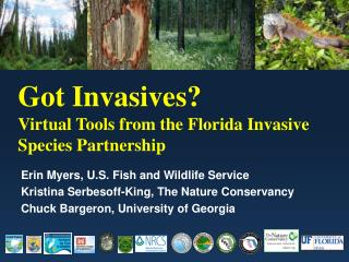 Got Invasives?  Virtual Tools from the Florida Invasive Species Partnership
