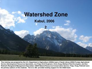 Watershed Zone