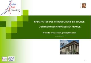 PARIS : PLACE FINANCIERE EUROPEENNE