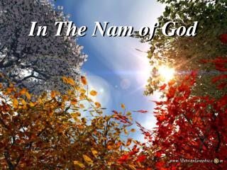 In The Nam of God