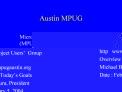 Austin MPUG