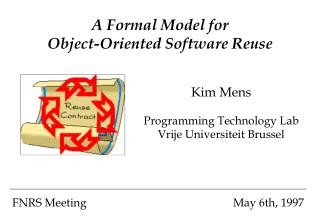 A Formal Model for Object-Oriented Software Reuse