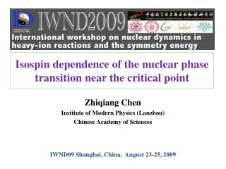 Isospin dependence of the nuclear phase transition near the critical point