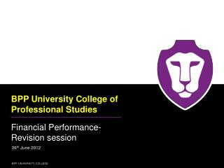 BPP University College of Professional Studies