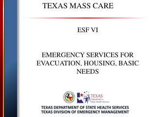 TEXAS MASS CARE