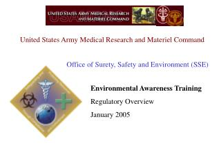 United States Army Medical Research and Materiel Command