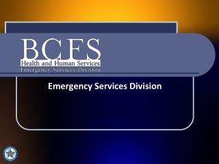 Emergency Services Division