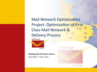 Mail Network Optimization Project: Optimization of First Class Mail Network & Delivery Process
