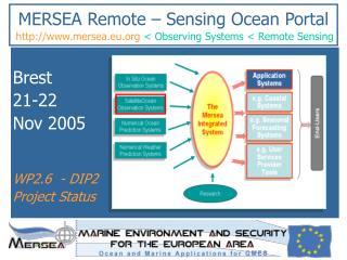 MERSEA Remote – Sensing Ocean Portal