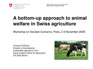 History of animal welfare policies in Switzerland