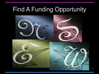 Find A Funding Opportunity