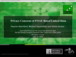 Privacy Concerns of FOAF-Based Linked Data