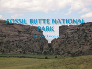 Fossil Butte National Park