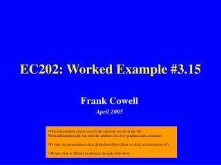 EC202: Worked Example #3.15