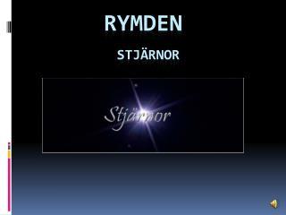 RYMDEN STJ�RNOR