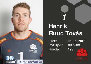 Henrik  Ruud Tovås