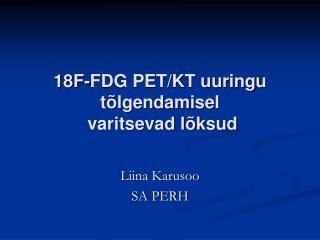 18F-FDG PET