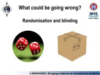 What could be going wrong? Randomisation and blinding