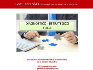 DIAGNÓSTICO - ESTRATÉGICO FODA