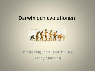 Darwin och evolutionen