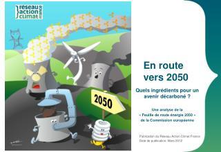 En route  vers 2050