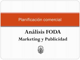 Planificaci�n comercial