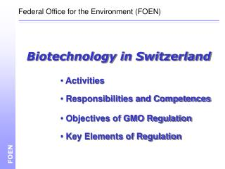 Biotechnology in Switzerland