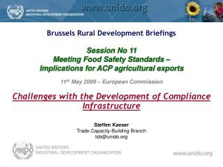 Steffen Kaeser Trade Capacity-Building Branch tcbunido