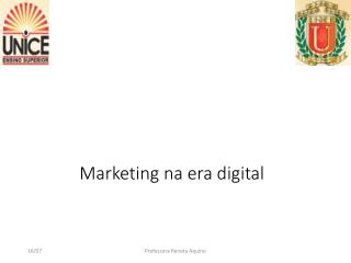 Marketing na era digital