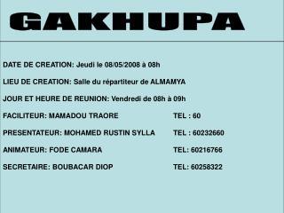 GAKHUPA