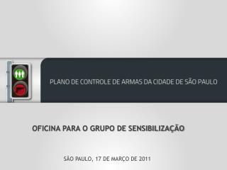 OFICINA PARA O GRUPO DE SENSIBILIZAÇÃO SÃO PAULO, 17 DE MARÇO DE 2011