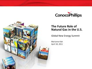 The Future Role of Natural Gas in the U.S.  Global New Energy Summit  Marianne Kah April 18, 2011