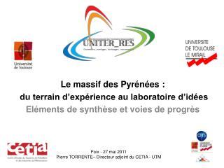 Le massif des Pyrénées :  du terrain d'expérience au laboratoire d'idées