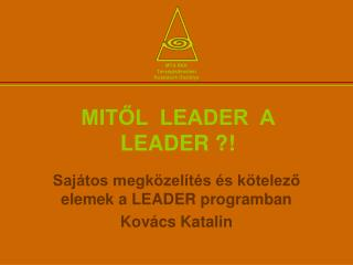 MITŐL  LEADER  A  LEADER ?!