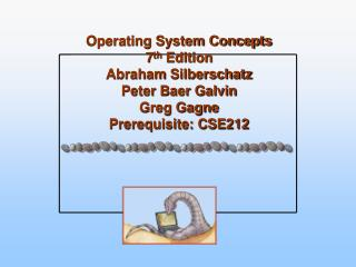 Lecture 4-5 Operating-System Structures