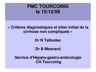 FMC TOURCOING le 15/12/09