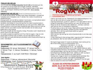 Fylkeskontoret for Rogaland og Vest-Agder