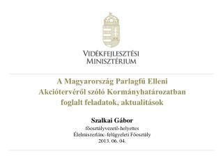 Magyarország Parlagfű Elleni Rövid és Középtávú Védekezési Akcióterve